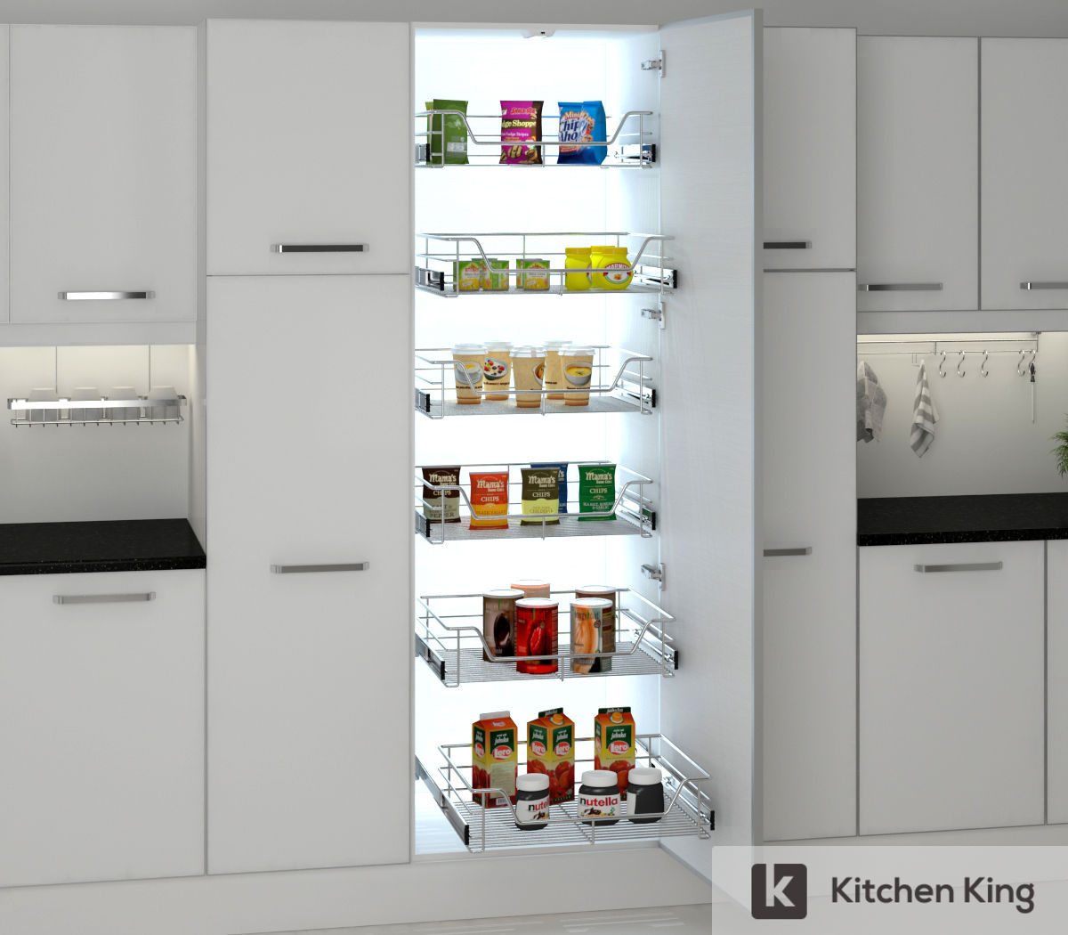 Kitchen Accessories, Kitchen Cabinet Pull Out in Dubai ...