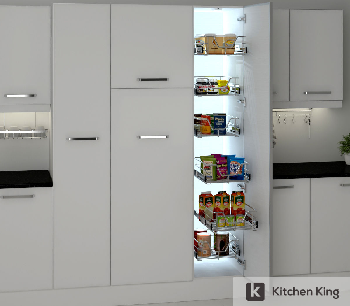 Kitchen Accessories Kitchen Cabinet Pull Out In Dubai Uae Kitchen King
