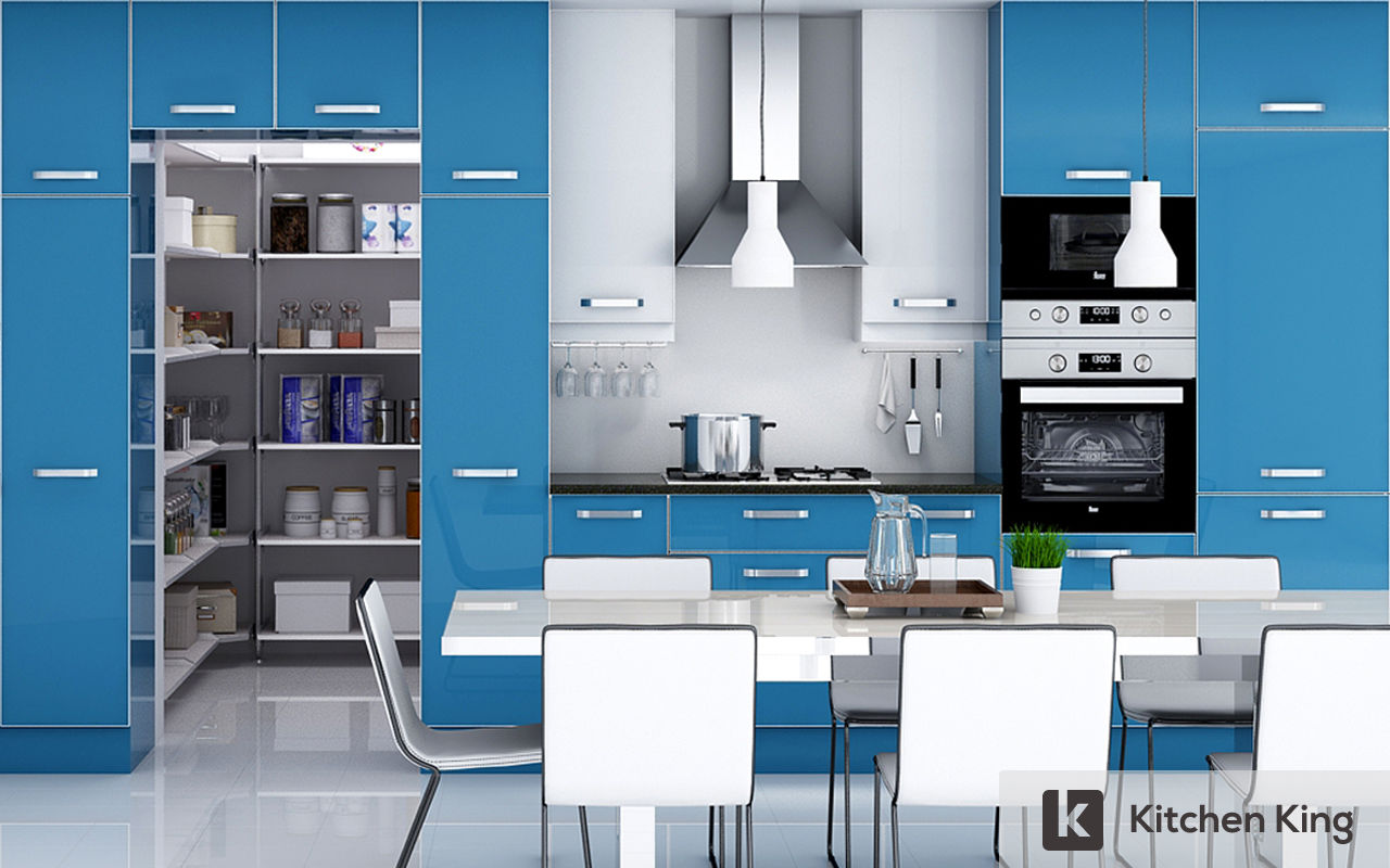 Kitchen designs and kitchen cabinet in dubai uae for Blue sky kitchen designs