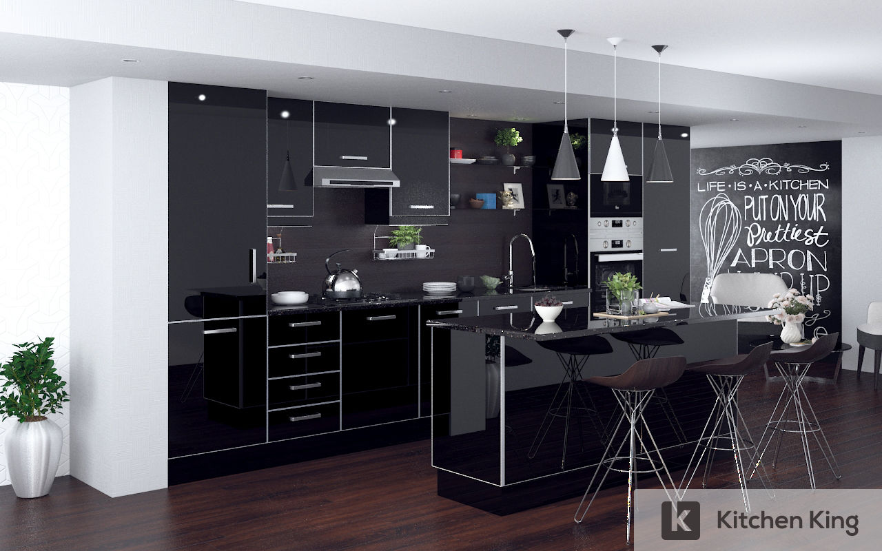 Kitchen designs and kitchen cabinet in dubai uae kitchen king Kitchen design companies uae