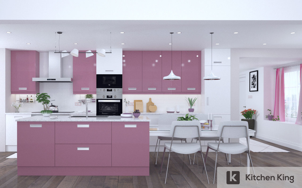Color Palette For White Kitchen