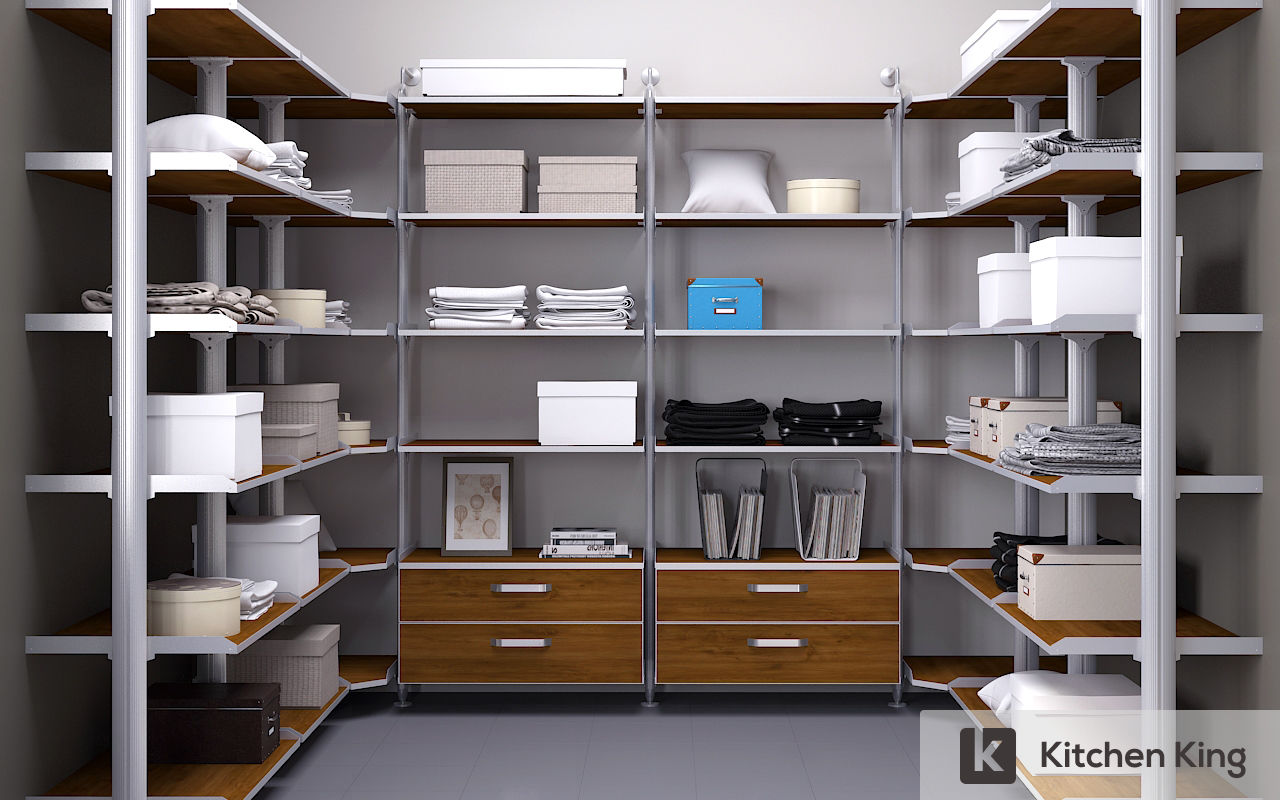 Wardrobe closet designs to fit your space in dubai uae Store room design ideas