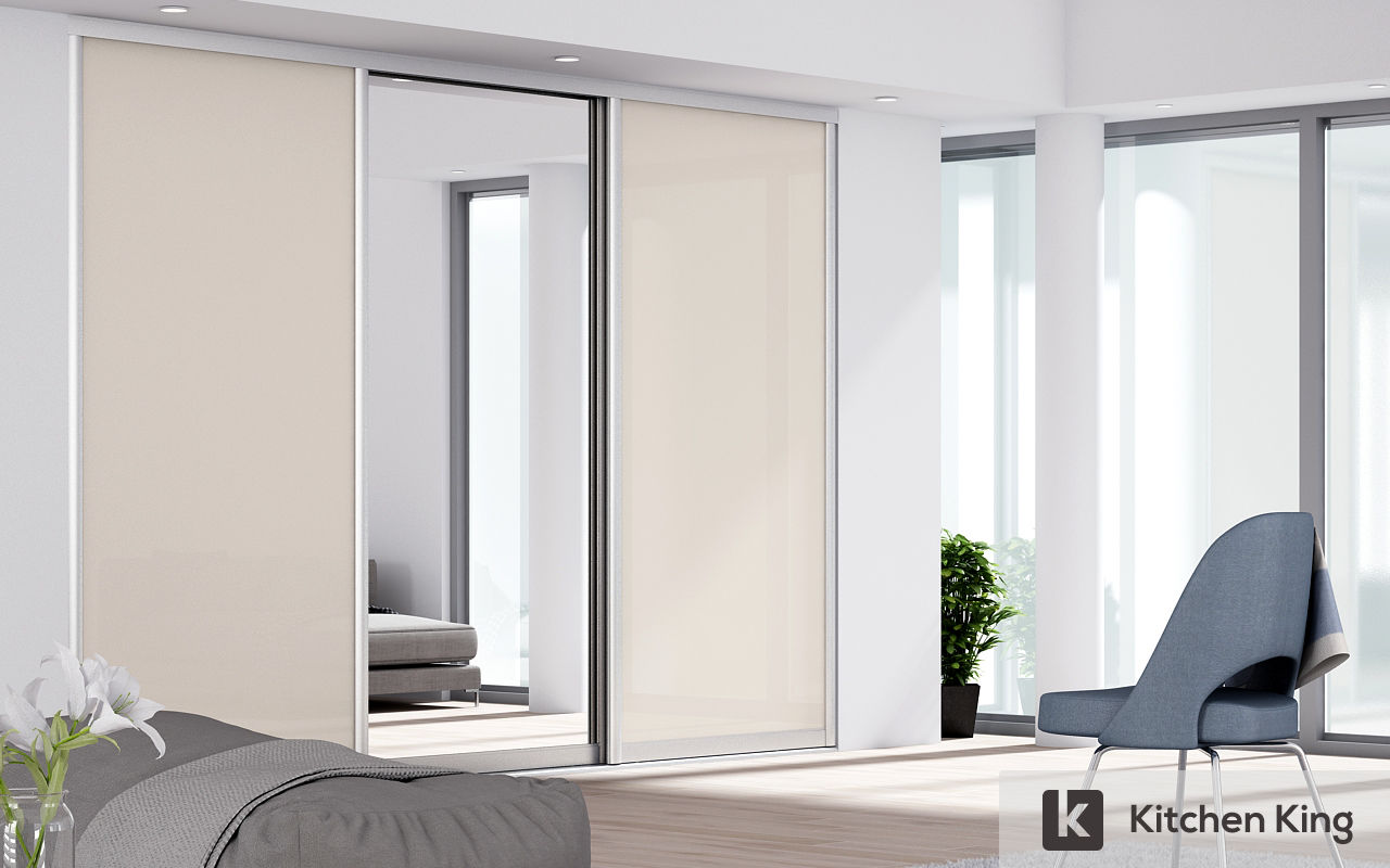 Wardrobe closet designs to fit your space in dubai uae kitchen king - Kitchen sliding door price ...