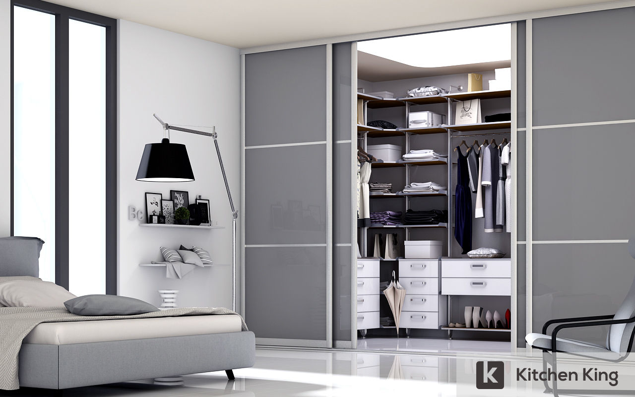 Wardrobe closet designs to fit your space in dubai uae kitchen king - Wardrobe design ...