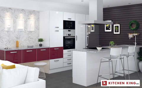 Kitchen designs and Kitchen cabinet in Dubai, UAE | KITCHEN KING
