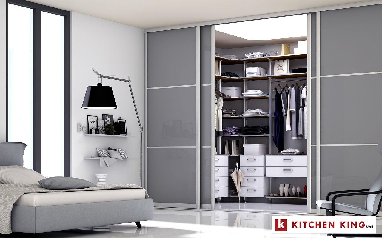 029f624df أروع تصاميم خزائن الملابس و غرف الدريسنج في اﻹمارات | كيتشن كينج