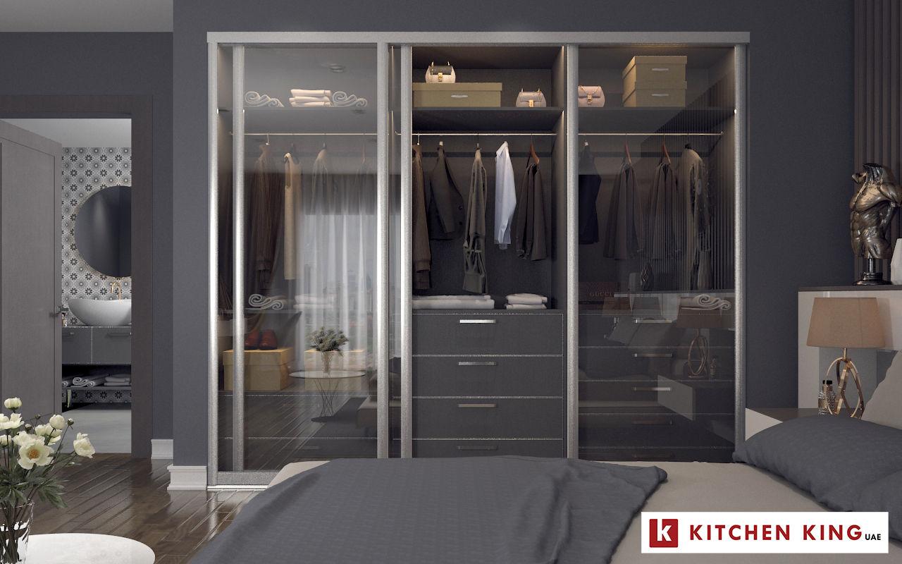eac4ad17d أروع تصاميم خزائن الملابس و غرف الدريسنج في اﻹمارات | كيتشن كينج