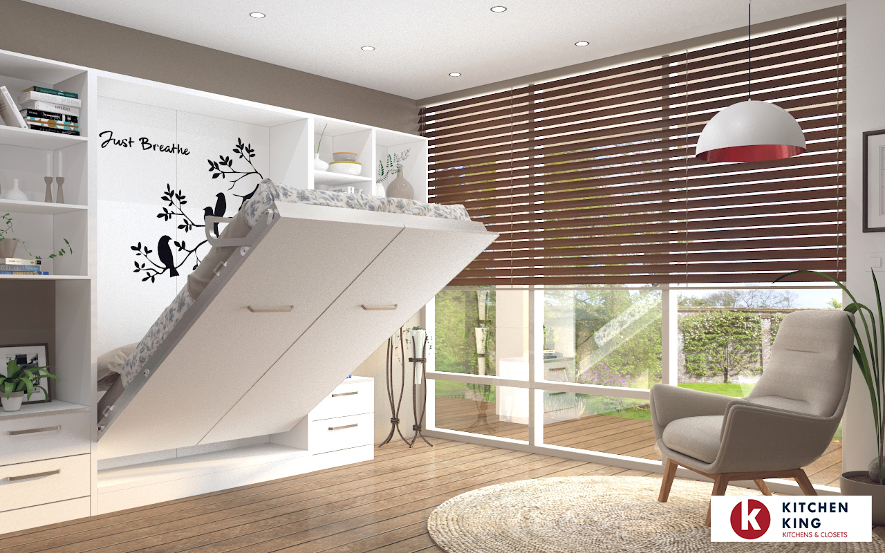 Picture of: Space Saving Murphy Smart Wall Bed Solutions Kitchen King Uae